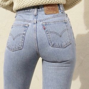 NWT Levi's 501 high waist wedgie fit jeans